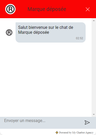 chat widget personalized