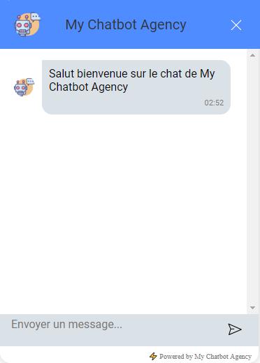 basic chat widget